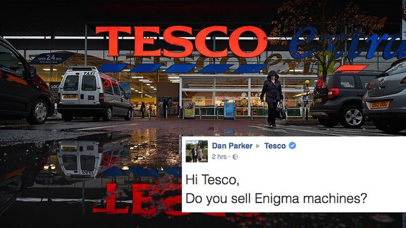 customer service hero tesco funny win