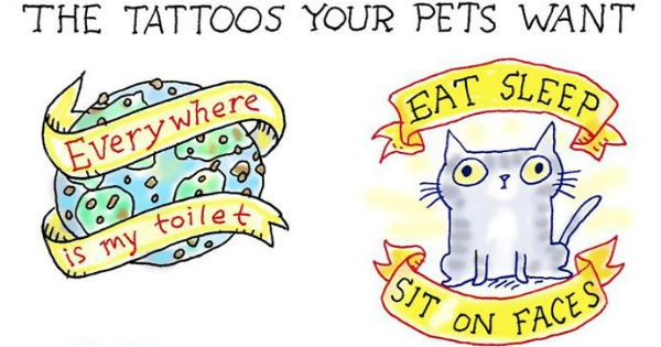 These Funny Web Comics About What Animals Are Thinking Will Make You Giggle