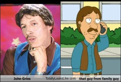 cartoons family guy John Gries that guy