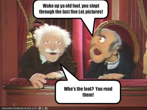 muppets Statler and Waldorf TV - 1191057152