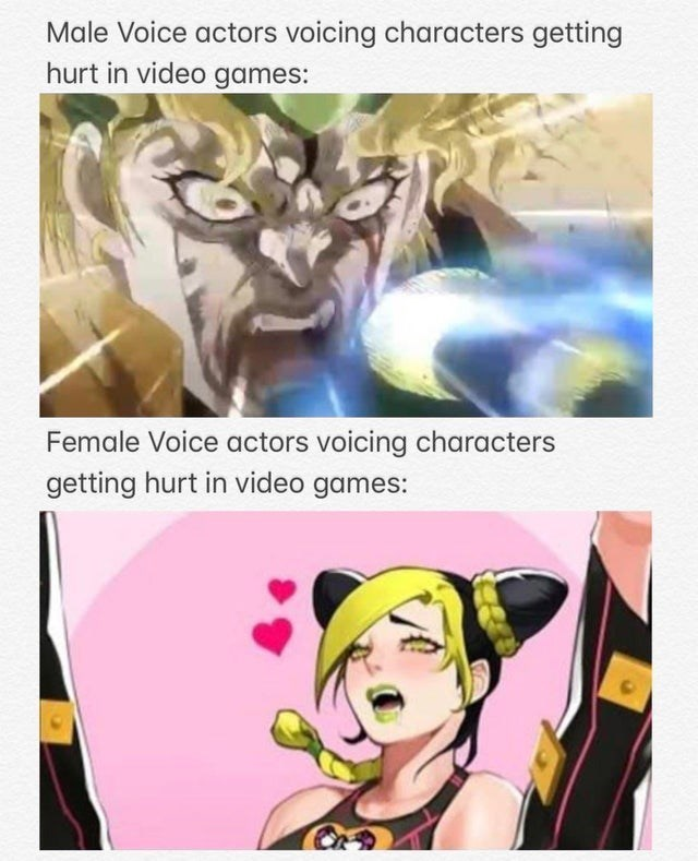 top ten 10 dank memes daily | Male Voice actors voicing characters getting hurt video games: Female Voice actors voicing characters getting hurt video games: