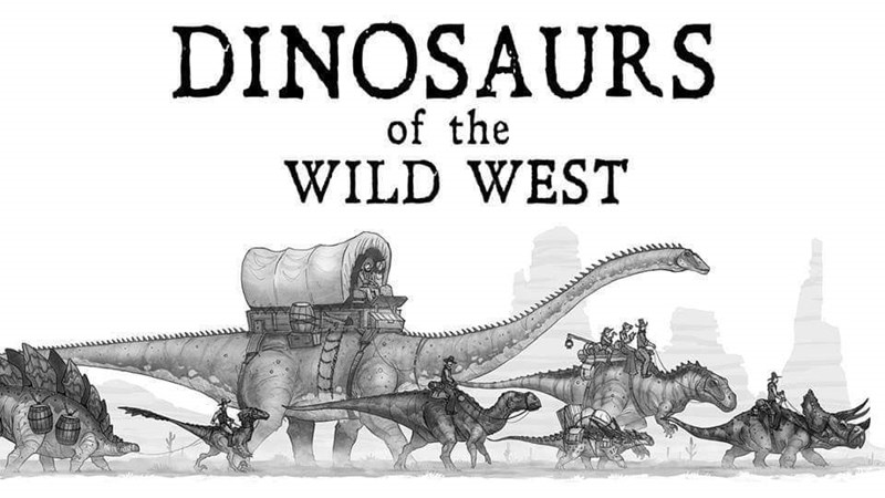 art dinosaurs wild west artist drawings illustrations amazing cool western cowboys |