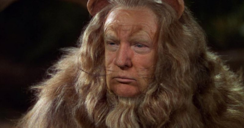 Photoshops of Donald Trump into famous movie frames