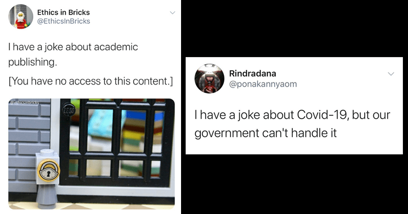 """Funny twitter meme """"i have a joke"""" funny tweets 