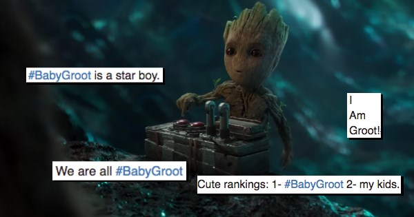 guardians of the galaxy baby groot groot - 1215237