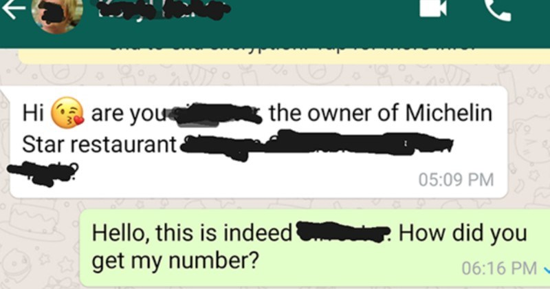 An entitled influencer Karen demands free food in exchange for exposure | ar 28 202n O Save have deal with this on constant vasis. Influenceplease don't message our private business numbers free food. Hi are owner Michelin Star restaurante 05:09 PM Hello, this is indeed did get my number? 06:16 PM