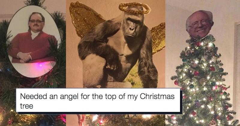 christmas christmas tree trolling Memes star - 1218309