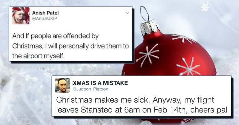 christmas,twitter,trolling