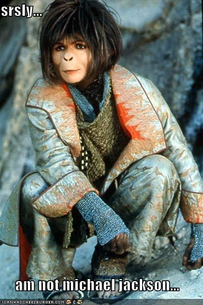 helena bonham-carter,michael jackson,Planet of the Apes