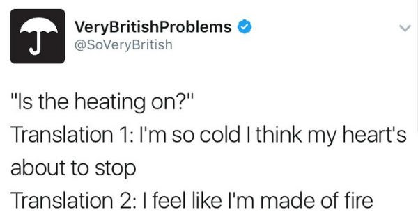 twitter relatable British british problems - 1227781