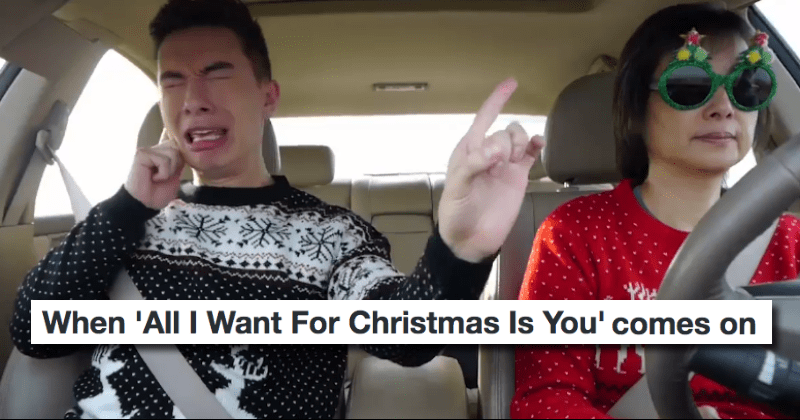 "These Reactions Prove There\'s No Need to Hide It, Everyone Loves Mariah Carey\'s ""All I Want For Christmas"""