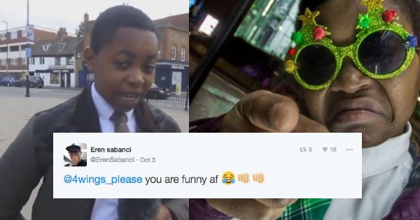 twitter chicken FAIL food reviews kid London food funny