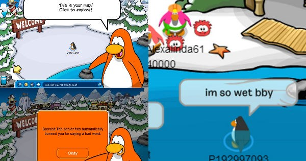 humor FAIL swearing profanity club penguin crude video games video game logic funny - 1236997