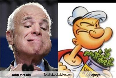 John McCain TotallyLooksLike.com Popeye