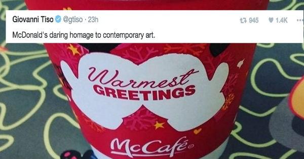 christmas twitter FAIL McDonald's holiday reactions funny - 1239045