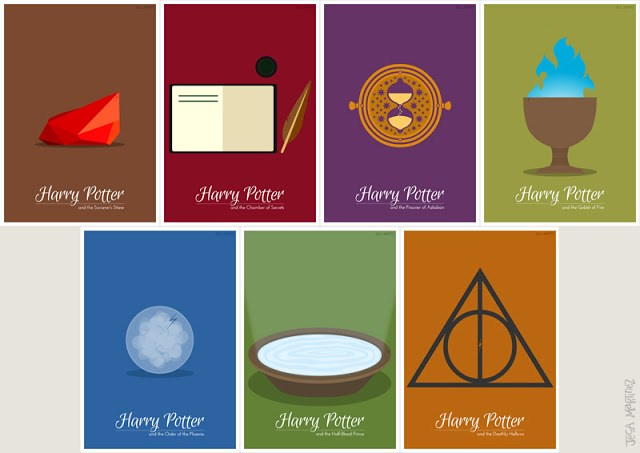 Fan Art Harry Potter list posters - 123909