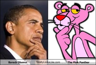 Barack Obama TotallyLooksLike.com The Pink Panther - Cheezburger ...