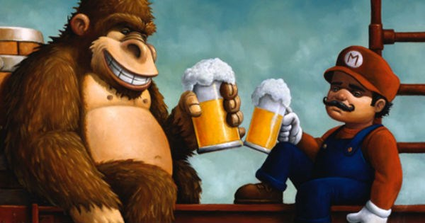Best Video Games to Play While Drinking With Friends