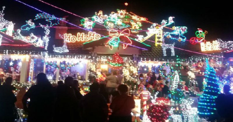 christmas twitter decorations christmas lights Video - 1246981