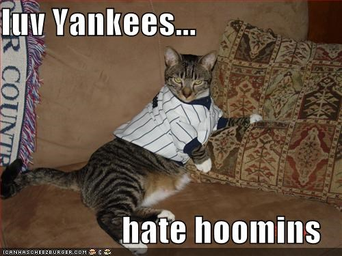 luv Yankees...                    hate hoomins