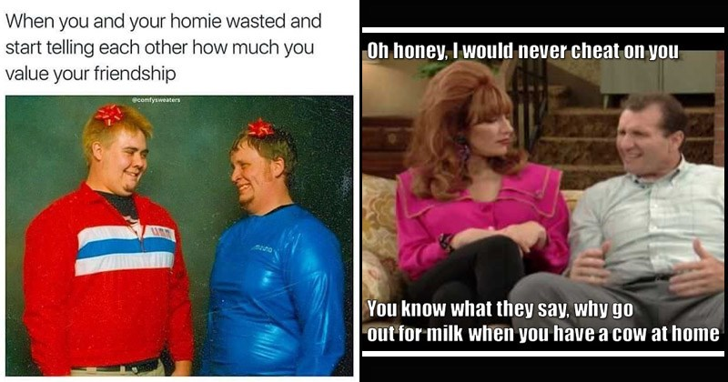"""Funny """"shitty wholesome memes"""" 