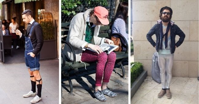 pictures of hipsters who took hipsterism too far - thumbnail includes three pictures of hipsters
