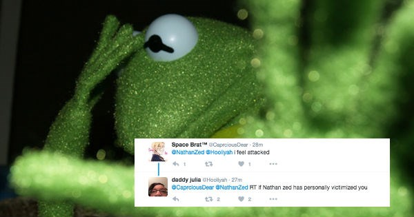 kermit the frog twitter muppets FAIL sad kermit dark humor reactions funny - 1254917