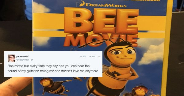 bee movie twitter movies Conspiracy Theory dreamworks fans funny