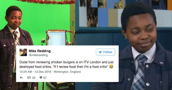 reviews,twitter,chicken,London,reactions,food,funny