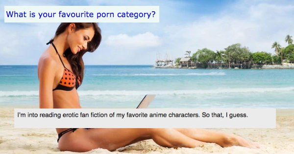 Women Favorite Porn Categories | Bird - gwenstefannypack into reading erotic fan fiction my favorite anime characters. So guess.