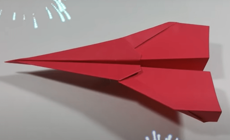 paper airplane tutorial long distance gifs