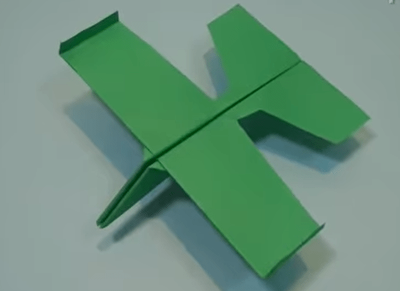glider paper airplane tutorial