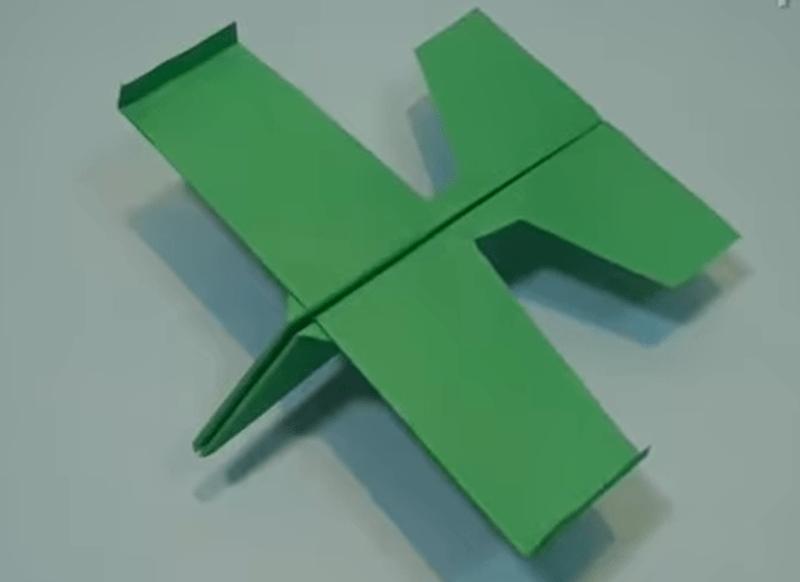 glider paper airplane tutorial
