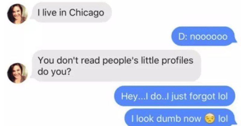 Guy makes a PowerPoint presentation for his Tinder match, and it goes well   live Chicago D: noooo0o don't read people's little profiles do Hey. do. just forgot lol look dumb now loi lol Haha sorry text messages