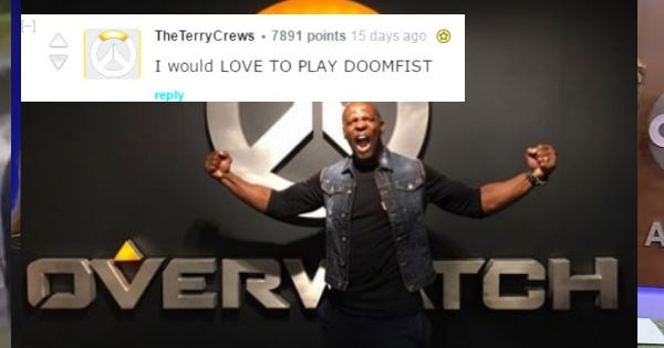 overwatch old spice guy blizzard Video Game Coverage video games terry crews