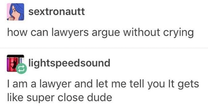 funny memes about law, crime, legal system, criminal law, tumblr, tumblr posts, tweets, funny tweets, courtroom, judge