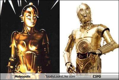 Metropolis Totally Looks Like C3PO