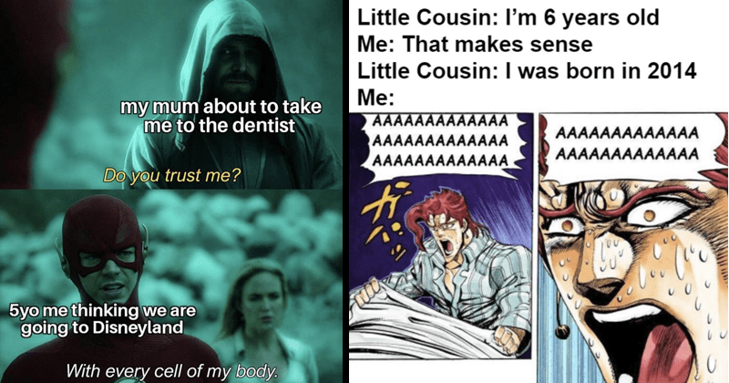 funny random memes, dank memes, netflix memes, stupid memes | my mum about take dentist Do trust 5yo thinking are going Disneyland With every cell my body. The Flash CW | Little Cousin 6 years old makes sense Little Cousin born 2014 ?e: AAAAAAAAAAAAA AAAAAAAAAAAAA AAAAAAAAAAAAA AAAAAAAAAAAAA AAAAAAAAAAAAA