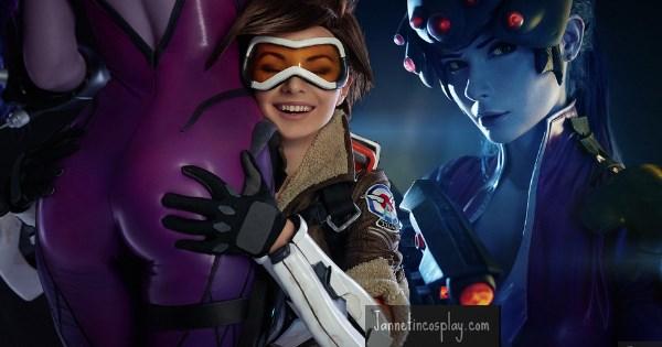 overwatch cosplay widowmaker video games - 1274373