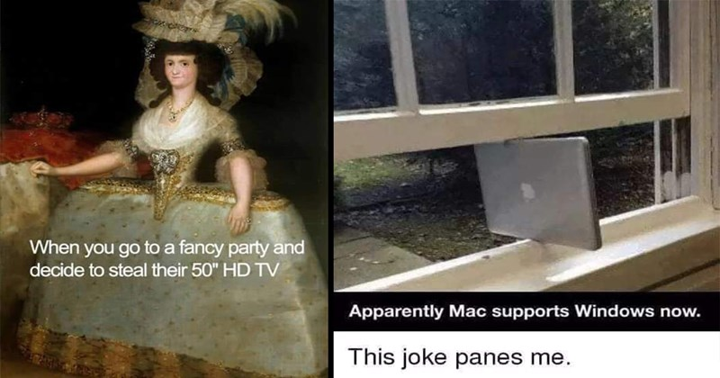 "Dank Memes, Good Memes, Funny Memes, Random Memes, Relatable Memes | go fancy party and decide steal their 50"" HD TV 