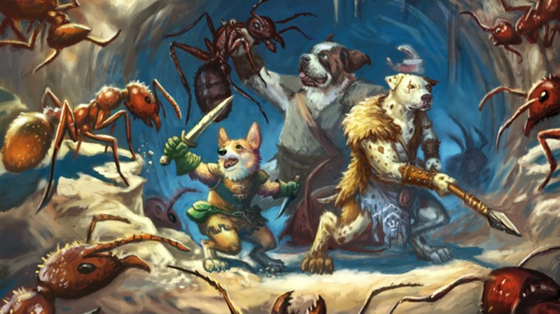 RPG,dogs,tabletop rpg,dungeons and dragons