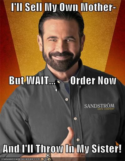 Billy Mays,famous for no reason