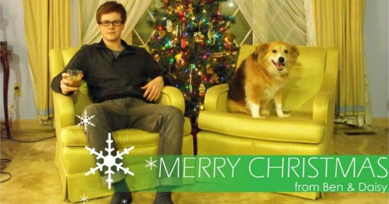 Christmas card memes