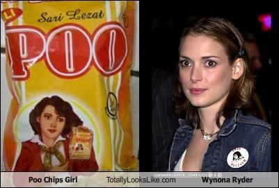 Poo Chips Girl Totally Looks Like Wynona Ryder
