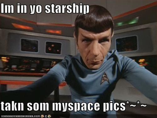 Leonard Nimoy sci fi Spock Star Trek - 1285299968