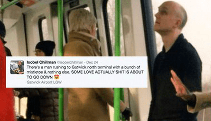 dating aww christmas reactions love actually story twitter - 1287941