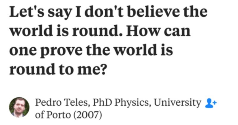 An understanding physics professor calmly dismantles the flat earthers | Let's say don't believe world is round can one prove world is round Pedro Teles, PhD Physics, University Porto Updated Wed Buy ticket Paris. Say arrive at Charles de Gaulle airport. Take RER B Gare du Nord. At Gare du Nord, switch RER metro and take line 4, direction Mairie de Montrouge. Get off at station Réaumur- Sébastopol ll now be on Boulevard Sébastopol, take left or right, depending on where exit