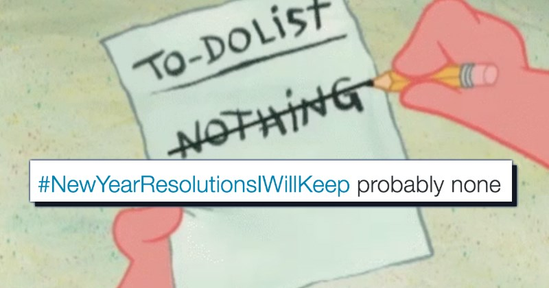resolutions list new year Memes - 1293573
