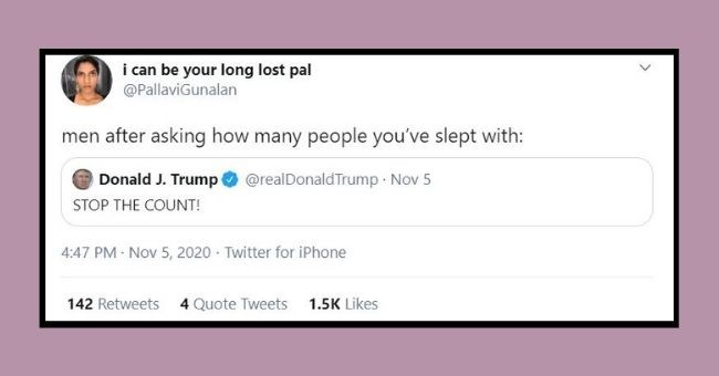 funny women roasting men tweets | thumbnail Text - Dana Donnelly @danadonly any guy who has ever tried to have sex without a condom needs to either support medicare for all or venmo every person they've rawed $500 for antibiotics just in case. ideally both though. 12:24 AM Nov 10, 2020 · Twitter for iPhone 130 Retweets 6 Quote Tweets 2.2K Likes <>