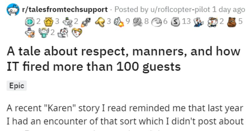 """IT employee gets rid of Horrible Karen Business Customer 